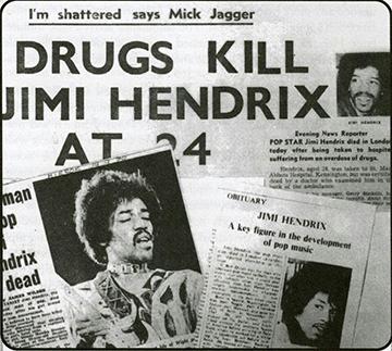 Jimi Hendrix The End