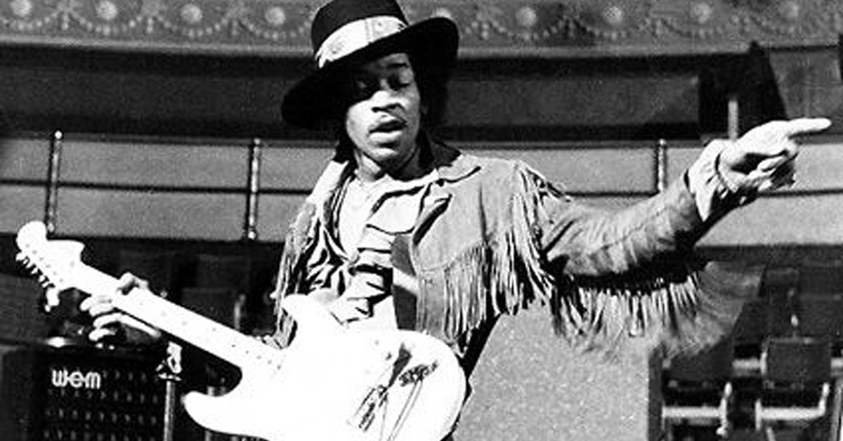 Ιστορία της Rock: Jimi Hendrix