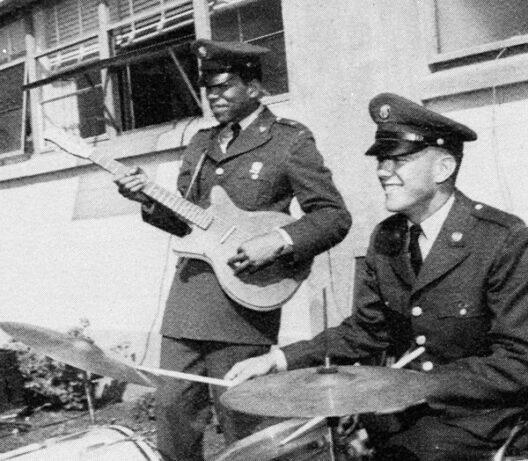 jimi Hendrix Army Days